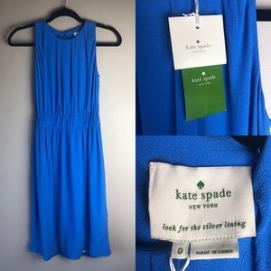 NWT Kate Spade New York Carlie Dress Azure Blue 0